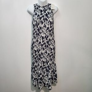 A New Day Dress Blue White NWT  Med